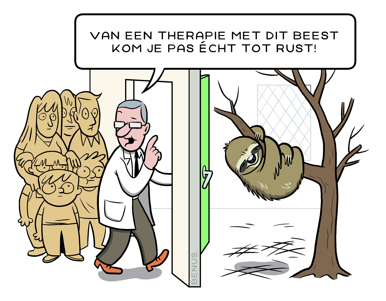 Dichtbij 2016-3, dossier, cartoon